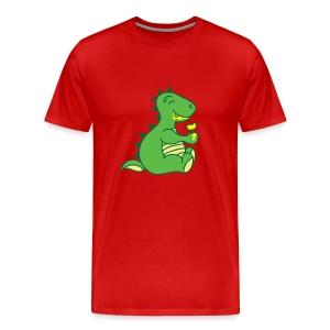 Dinosaurs Love Ice Cream - Men's Premium T-Shirt