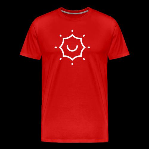 Solar Flair Icon + TheeFeelGoods - Thefeelgoodflow - Men's Premium T-Shirt