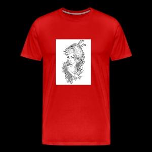 Geisha girl - Men's Premium T-Shirt