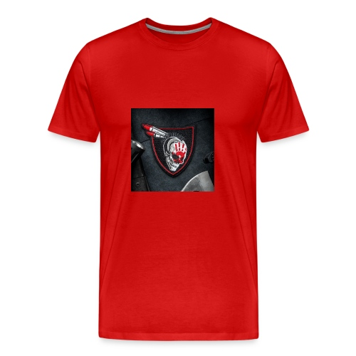 SavageRedHand - Men's Premium T-Shirt