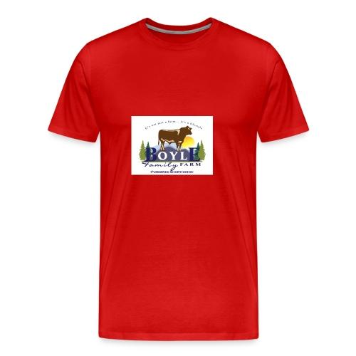 Farm logo - Men's Premium T-Shirt