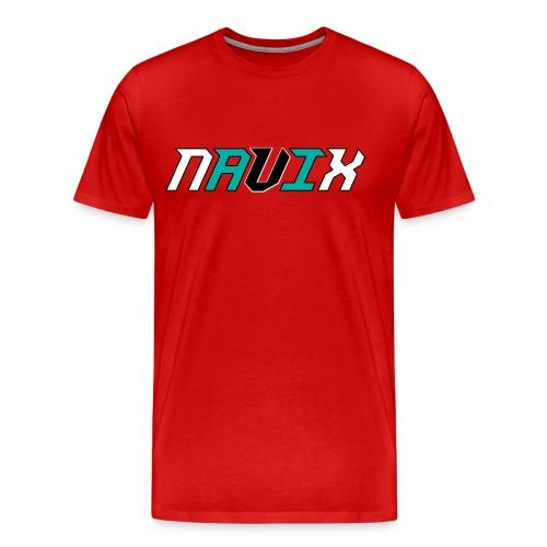 Blue and White - Men's Premium T-Shirt
