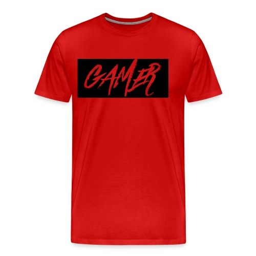 Gamer Logo Shirt - Men's Premium T-Shirt