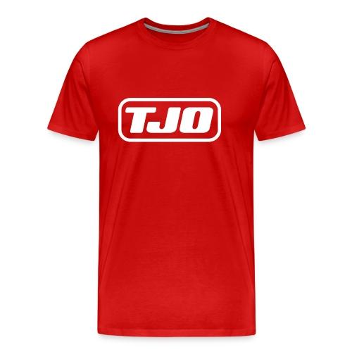 TJO official white - Men's Premium T-Shirt