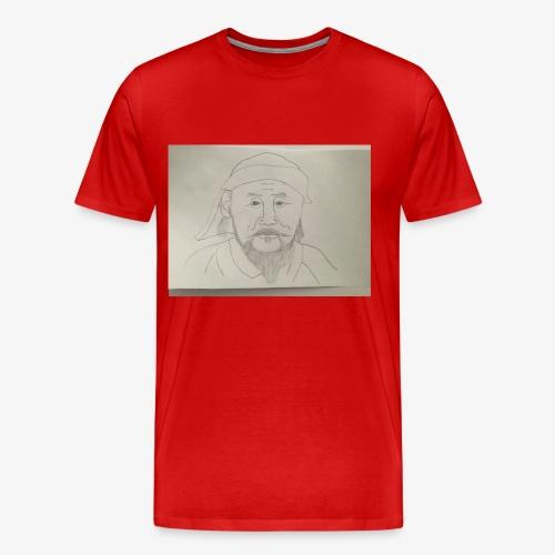 I'm Kublai khan, wait am I flat??? - Men's Premium T-Shirt