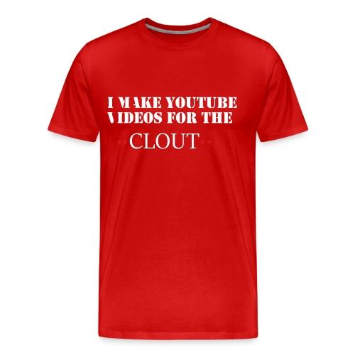 Clout Chasher - Men's Premium T-Shirt