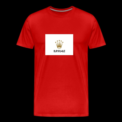 supreme clan rolex logo - Men's Premium T-Shirt