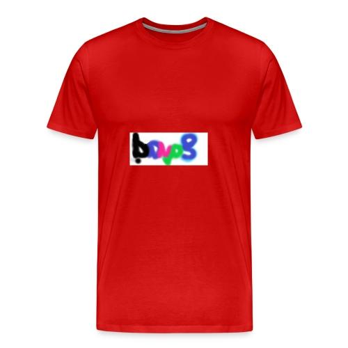 brush the haters off - Men's Premium T-Shirt