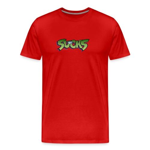 Art Sucks - Damned - Men's Premium T-Shirt