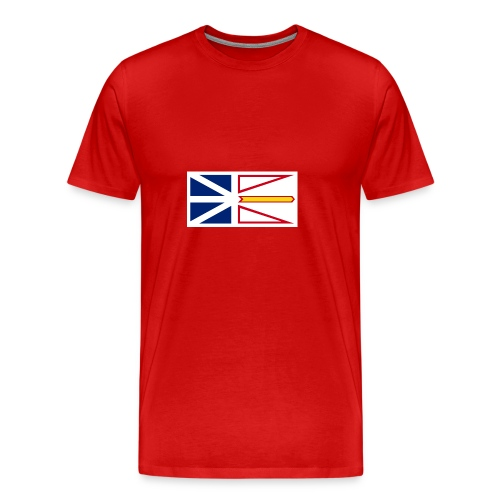 1200px Flag of Newfoundland and Labrador svg - Men's Premium T-Shirt