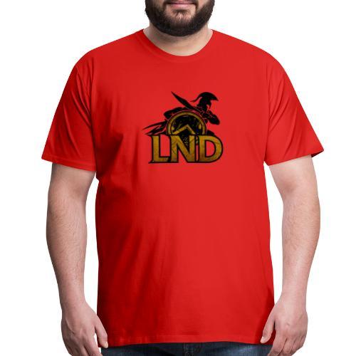 LND Logo Design - Men's Premium T-Shirt