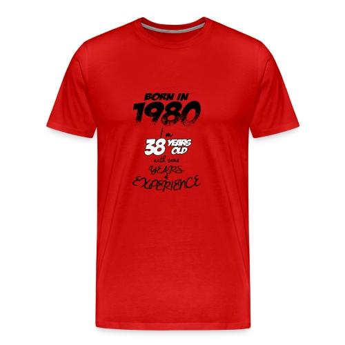 08 born in 1980 38 YEAR 2018 - Men's Premium T-Shirt