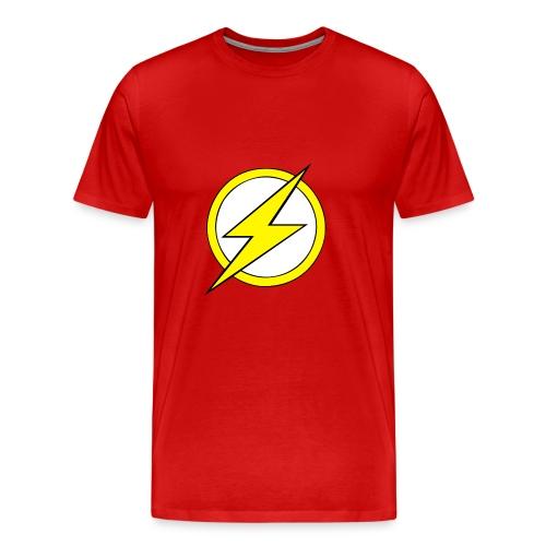 Kid Flash Logo - Second Channel - Men's Premium T-Shirt