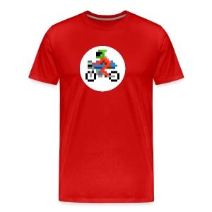 Cafe Biker - Men's Premium T-Shirt