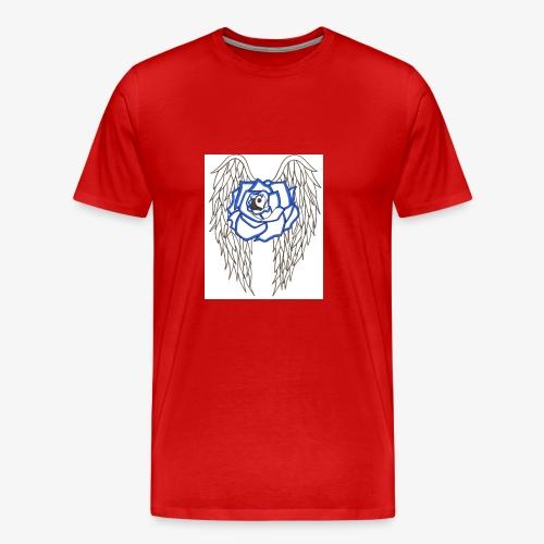 Flying rose - Men's Premium T-Shirt