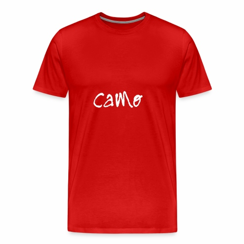 My Logo (White) - Men's Premium T-Shirt