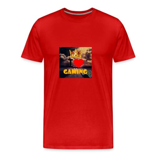 I love gaming merch - Men's Premium T-Shirt