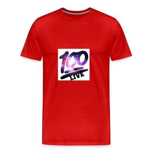 living 100 - Men's Premium T-Shirt