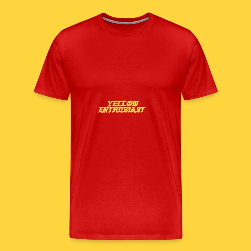 yellow enthusiast - Men's Premium T-Shirt