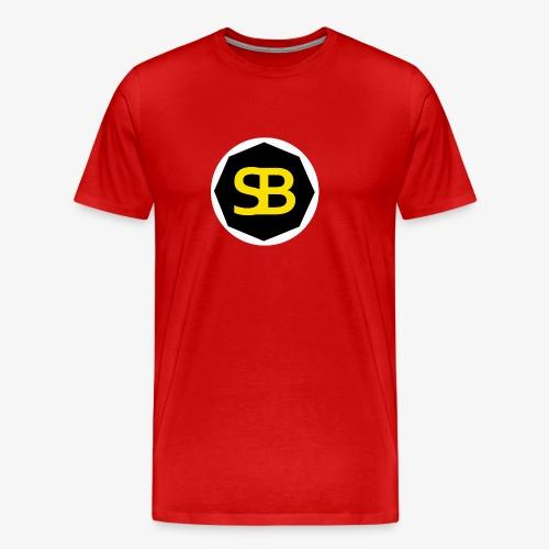 New StreamBox Logo Blk Gold - Men's Premium T-Shirt