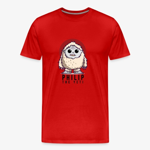 Philip the Yeti - Men's Premium T-Shirt
