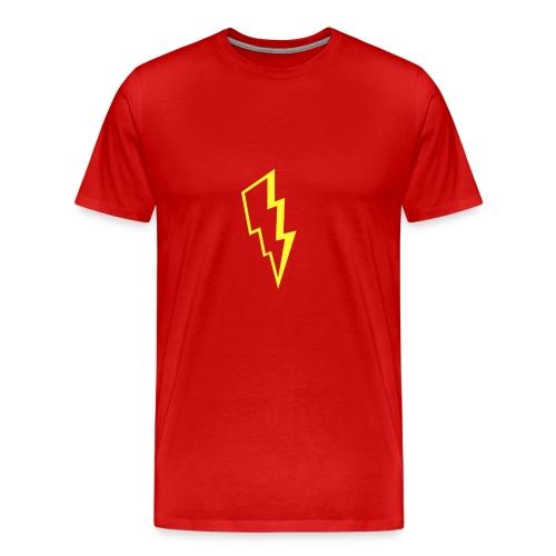 Yellow lightning - Men's Premium T-Shirt