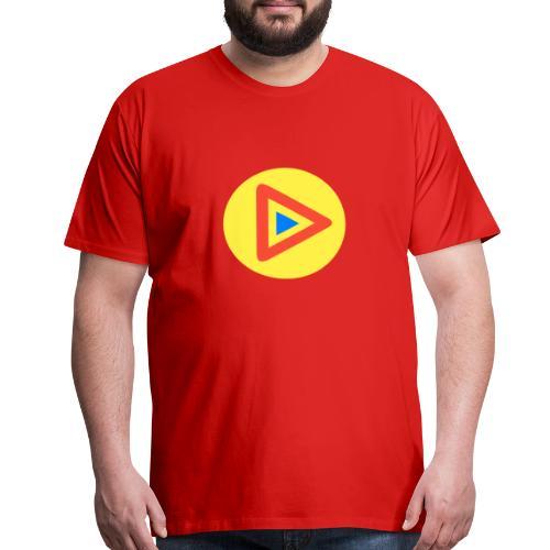 Most Played Play Logo - Men's Premium T-Shirt
