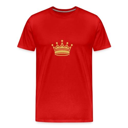 86345757b9d3fa46a0c517bc413fc34e crown clip art tr - Men's Premium T-Shirt