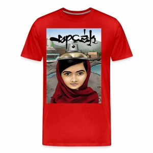 Speak - Malala Yousafzai - Men's Premium T-Shirt