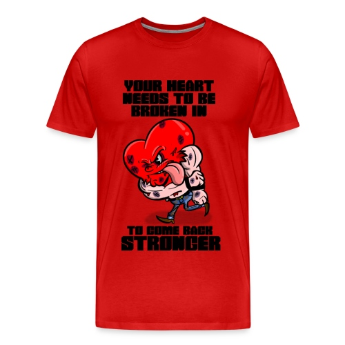 Fighting Heart - Men's Premium T-Shirt