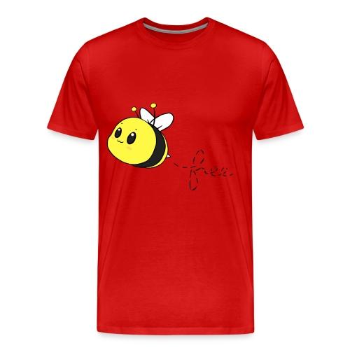 bee free - Men's Premium T-Shirt