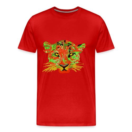 Tiger texture - Men's Premium T-Shirt