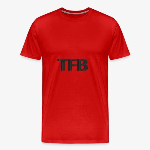 TFB Black 3D - Men's Premium T-Shirt