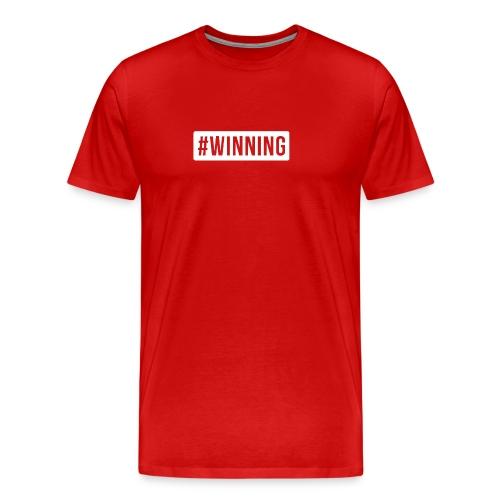 #WINNING - Men's Premium T-Shirt