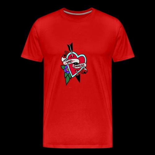 Who Cares? Anti-Valentine's Day - Men's Premium T-Shirt