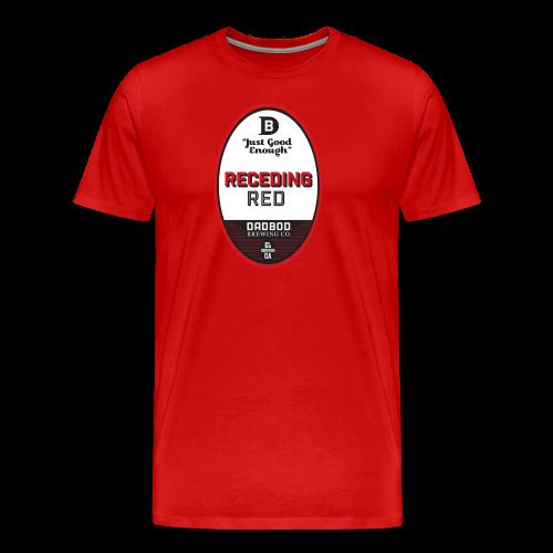 RECEDING RED - Dadbod Brewing Co - Men's Premium T-Shirt