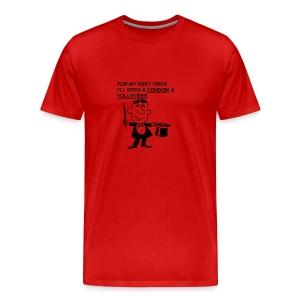 Magician Condom Shirt - Men's Premium T-Shirt