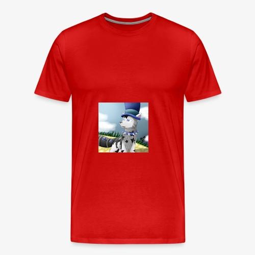 Zero Wolfie_Game - Men's Premium T-Shirt