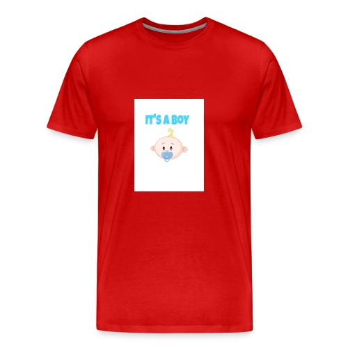 It-s_a_boy_tshirt - Men's Premium T-Shirt