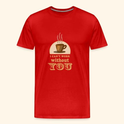 NEW Coffee Shirt - Men's Premium T-Shirt