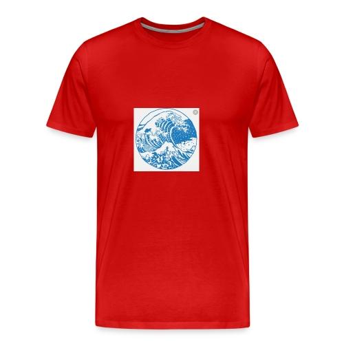 Wave - Men's Premium T-Shirt