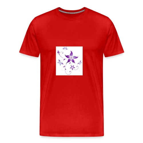 Purple beauty - Men's Premium T-Shirt