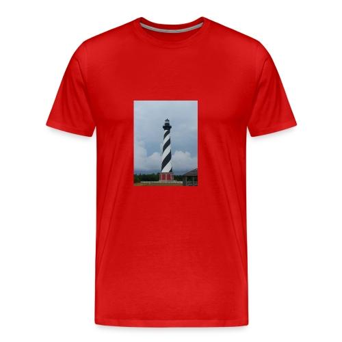 Cape Hatteras Lighthouse - Men's Premium T-Shirt