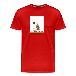 Lucky Number7 California Teddy NO Gunja Leaf - Men's Premium T-Shirt