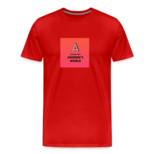 Andrew's world - Men's Premium T-Shirt