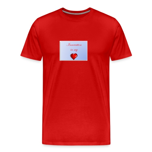 Innovation In my Heart - Men's Premium T-Shirt