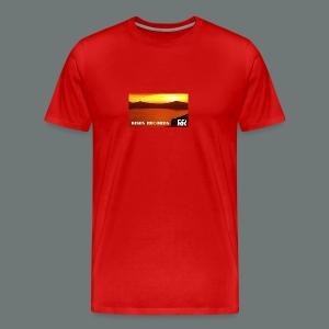 Risen Records Crater Lake Sunset - Men's Premium T-Shirt