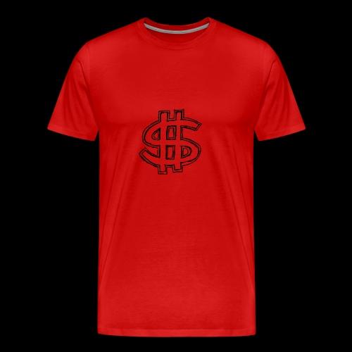 dollar sign drawing 4 - Men's Premium T-Shirt