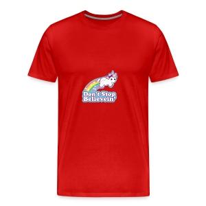 Don't Stop Believe'in - Men's Premium T-Shirt