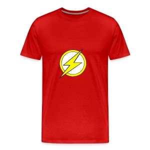 Kid Flash Logo - Second Channel - Men's Premium T-Shirt